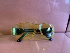 60 x NEW SEALED PAIRS OF 21ST CENTURY SAFETY GLASSES. RRP £8 EACH (115/13)