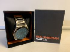 BRAND NEW THE ORIGINAL BEN SHERMAN WATCH BOXED