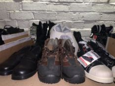 6 x PAIRS OF VARIOUS WORK BOOTS TO INCLUDE COFRA IN VARIOUS SZIES (110/13)