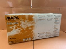 10 X PACKS OF 100 MAPA SOLO 990 PROFESSIONAL GLOVES (178/13)