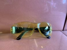 60 x NEW SEALED PAIRS OF 21ST CENTURY SAFETY GLASSES. RRP £8 EACH (117/13)