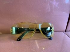 60 x NEW SEALED PAIRS OF 21ST CENTURY SAFETY GLASSES. RRP £8 EACH (114/13)