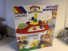 2 X BRAND NEW BOXED MOLTO ACTIVITY MUSHROOMS RRP £50 EACH