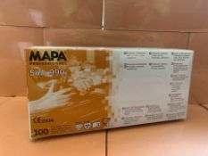 10 X PACKS OF 100 MAPA SOLO 990 PROFESSIONAL GLOVES (173/13)