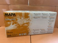 10 X PACKS OF 100 MAPA SOLO 990 PROFESSIONAL GLOVES (176/13)