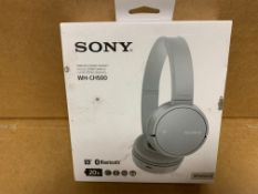 1 X NEW & BOXED SONY WH-CH500 HEADPHONES