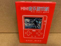 1 X NEW & BOXED MINI MUSIC GAME