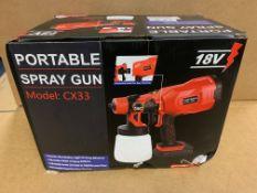 1 X NEW & BOXED PORTABLE SPRAY GUN