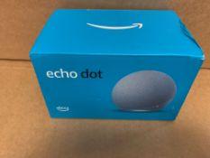 1 X NEW & BOXED ALEXA ECHO DOT