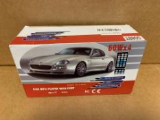 1 X NEW & BOXED CAR MP3 PLAYER WITH PORT
