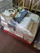 (A9) PALLET TO CONTAIN A LARGE QUANTITY OF VARIOUS ITEMS TO INCLUDE:PLATES, BOWLS, VARIOUS