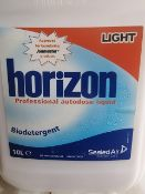 (L8) PALLET TO CONTAIN 29 x NEW SEALED 10L HORIZON PROFESSIONAL AUTODOSE LIQUID. BIODETERGENT.
