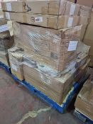 (A2) PALLET TO CONTAIN A LARGE QUANTITY OF VARIOUS ITEMS TO INCLUDE: ARTHOUSE CANVASES, STAINLESS