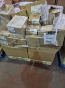 (A4) PALLET TO CONTAIN A LARGE QUANTITY OF VARIOUS ITEMS TO INCLUDE: CHURCHILL APREE STACKING TEA