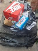 (L2) PALLET TO CONTAIN A LARGE QTY OF VARIOUS ITEMS SUCH AS NIKE TRAINERS, SHOWER SET, RAINBOW