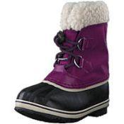 (37) BOX LOT TO INCLUDE 8 ITEMS: 2X Sorel Kids Yoot Pac Nylon Waterproof Boots [Colour: Wild Iris/