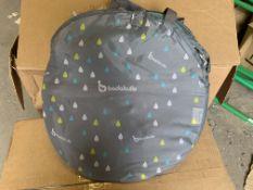 12 X BRAND NEW BADOO UNIVERSAL 2 IN 1 RAIN COVERS