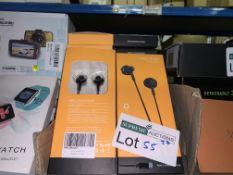 22 X BRAND NEW PRO-ELEC WIRED EARPHONES