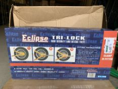 2 X BRAND NEW ECLIPSE TRI-LOCK HIGH SECURITY LOCKS