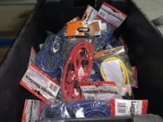 48 X PACKS OF VARIOUS LUGGAGE STRAPS