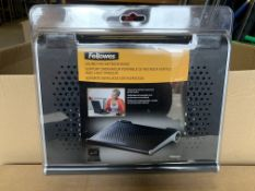16 X BRAND NEW FELLOWES SOUND PAD NETBOOK RISERS