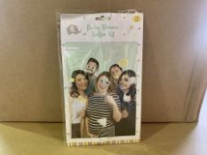 96 X BRAND NEW BABY SHOWER SELFIE KITS IN 4 BOXES (86/20)