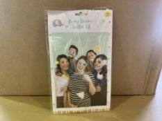 96 X BRAND NEW BABY SHOWER SELFIE KITS IN 4 BOXES (84/20)