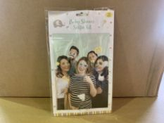 96 X BRAND NEW BABY SHOWER SELFIE KITS IN 4 BOXES (85/20)