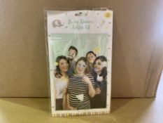 96 X BRAND NEW BABY SHOWER SELFIE KITS IN 4 BOXES (87/20)