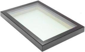 Panoroof (EOS) Fixed Aluminium Triple-Glazed Laminated Skylight with Self-Cleaning Glass - 1500x1500