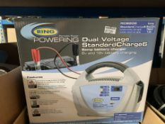 2 X NEW BOXED RING DUAL VOLTAGE STANDARD CHARGE 6