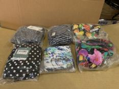 24 X BRAND NEW INDIVIDUALLY PACKAGED FIGLEAVES UNDERWEAR AND SWIMWEAR IN VARIOUS BRANDS STYLES AND