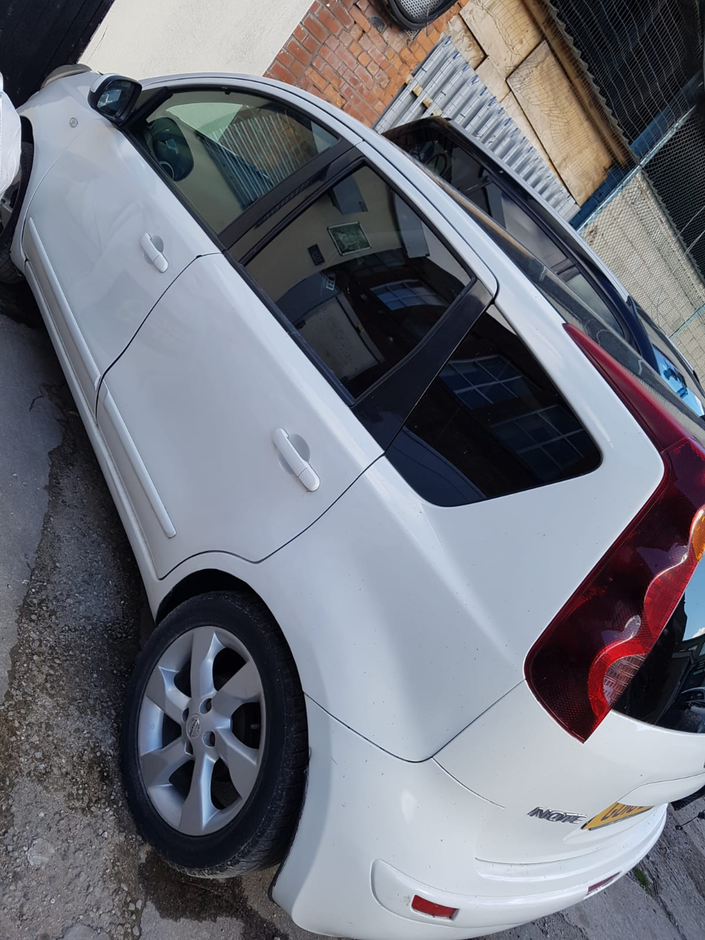 WHITE NISSAN NOTE 2010 GU10 BVL 61000 MILES COLLECTION MANCHESTER