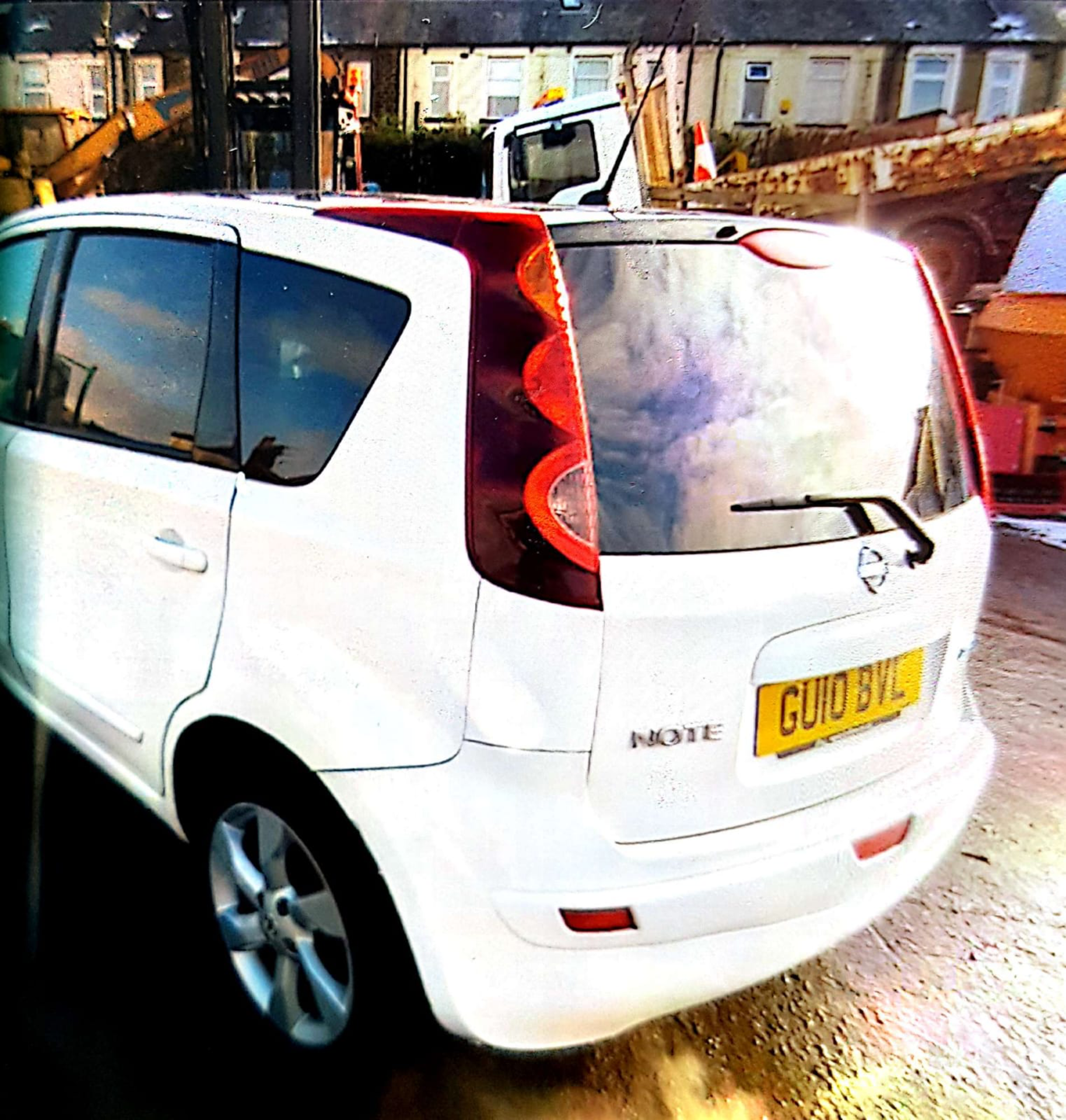 WHITE NISSAN NOTE 2010 GU10 BVL 61000 MILES COLLECTION MANCHESTER - Image 4 of 4