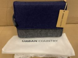 10 X BRAND NEW URBAN COUNTRY MESSENGER HUNTER BAG GREY RRP £37 EACH