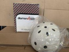2 X NEW BOXED DIAMOND BACK CYCLE HELMETS