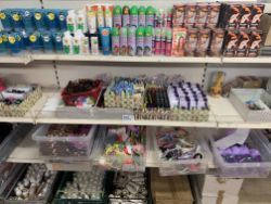 FULL CONTENTS OF A LARGE INDEPENDANT RETAILER DUE TO LIQUIDATION. HUGE TRADE LOTS. LOCATED IN LEEDS. COLLECTION ONLY OVER £300,000 AT COST VALUE