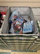 DUMPER BASKET TO INCLUDE SPIDERMAN WATER BOTTLES