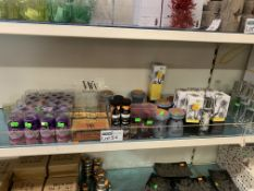 50 X VARIOUS WAX MELTS AND ROOM COLOGNE INCLUDING WOODWICK AND WAX LIRICAL
