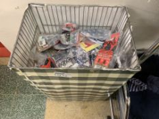 DUMPER BASKET TO CONTAIN LARGE QUANTITY OF KIDS SOCK INCLUDING STAR WARS ETC