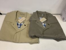 10 X NEW PACKAGED PETER CHRISTIAN LUXURY JACKETS - SIZES MAY VARY. RRP £60 EACH