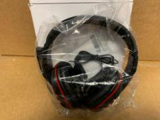 1 X NEW & BOXED GAMING HEADPHONES (55/28)