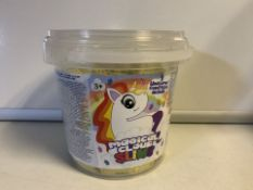 8 x NEW SEALED MAGICAL UNICORN SLIME TUBS 800G EACH TUB (189/28)