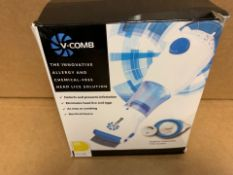 1 X NEW & BOXED V-COMB HYGENIC DISPOSABLE FILTER SYSTEM (64/28)