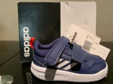 NEW & BOXED ADIDAS TRAINERS SIZE INFANT 3 (270 UPSTAIRS)