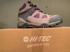 NEW & BOXED HI-TEC BOOTS SIZE JUNIOR 5 (222 UPSTAIRS)