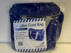 2 x NEW SEALED FALCON 26 LITRE COOL BAGS. 48 CAN CAPACITY (229/28)