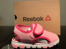 NEW & BOXED REEBOK SANDALS SIZE INFANT 8 (202 UPSTAIRS)