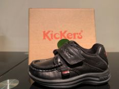 NEW & BOXED KICKERS SHOES SIZE INFANT 6 (165 UPSTAIRS)
