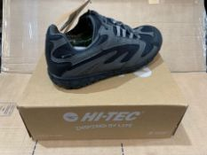I X NEW & BOXED HI-TEC KA593 TRAINERS SIZE 6 (93/28)